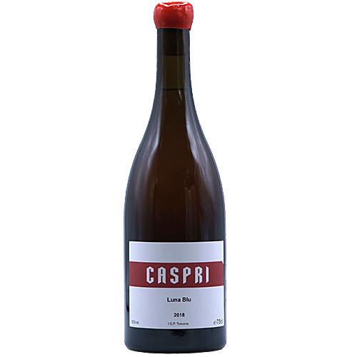Bertrand-Habsiger Wine - 2018 - Fattoria-Di-Caspri - Luna-blu - Orange - Trebbiano-Malvoisia - PGI-Tuscany - Italy - 52025 - Montevarchi