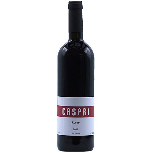 Wine Bertrand-Habsiger - 2017 - Fattoria-Di-Caspri - Rosso - Red - Sangiovese - PGI-Tuscany - Italy - 52025 - Montevarchi