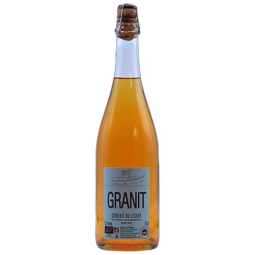 Wine Cedric-le-Bloas - 2018 - Ferme-Beg-Leguer - Granite - Bubbles - Apple - IGP-Cidre-de-Bretagne - Loire - 22300 - Lannion