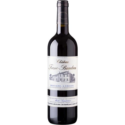 Wine Sophie-Guimberteau-Charles-Foray - 2014 - Chateau-Franc-Baudron - Franc-Baudron - Red - Merlot - AOP-Montagne-St-Emilion - Bordeaux - 33570 - Mountain