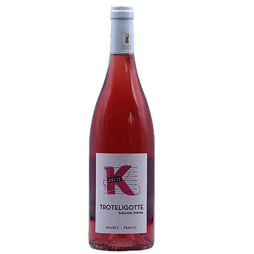 Wine Emmanuel-Rybinski - 2018 - Clos-Troteligotte - K-Delit - Rose - Malbec - Vin-de-France - Southwest - 46220 - Pascadoires