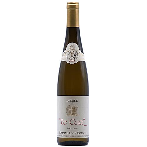 Wine Mathieu-et-Marie-Boesch - 2018 - Leon-Boesch - Le-Coq - White - Pinot-gris - PDO-Alsace - Alsace - 68250 - Westhalten