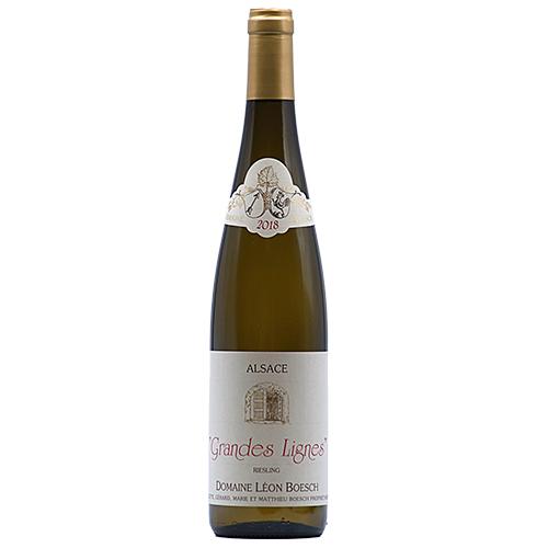 Wine Mathieu-et-Marie-Boesch - 2018 - Leon-Boesch - Les-Grandes-Lignes - White - Riesling - PDO-Alsace - Alsace - 68250 - Westhalten