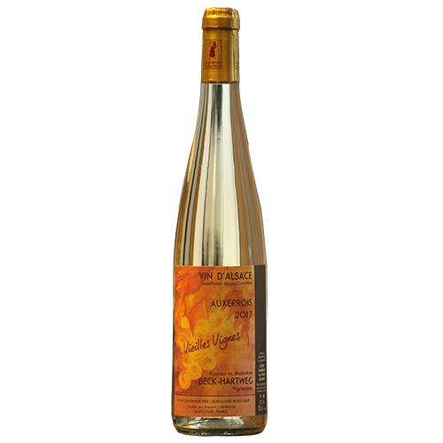 Wine Mathilde-et-Florian-Beck-Hartweg - 2017 - Old vines - White - Auxerrois - AOP-Alsace - Alsace - 67650 - Dambach-la-ville