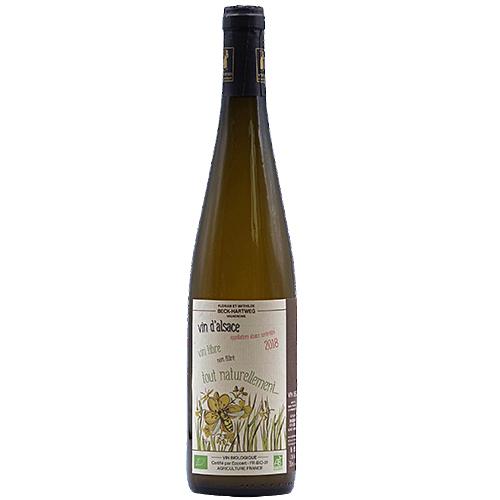 Wine Mathilde-et-Florian-Beck-Hartweg - 2018 - All-Natural - White - Sylvaner - PDO-Alsace - Alsace - 67650 - Dambach-la-ville