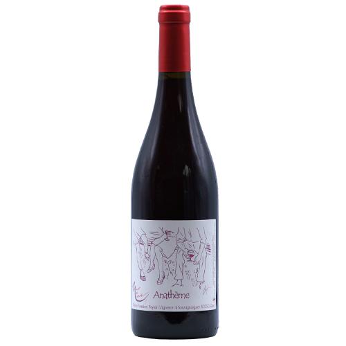 Wine Thierry-Forestier - 2020 - Mont-de-Marie - Anatheme - Red - Aramon - Vin-de-France - Languedoc-Roussillon - 30250 - Souvignergues